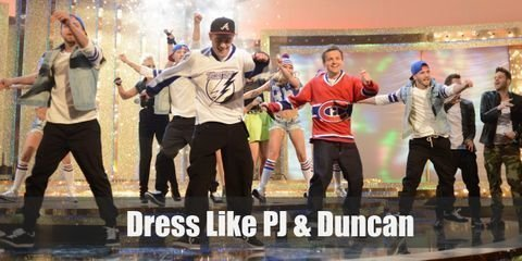 Their get-up may not be in now, but PJ and Duncan's style is a good representation of early 2000's street fashion