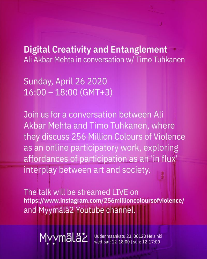 256 ~ Digital Creativity and Entanglement: In conversation with Timo Tuhkanen