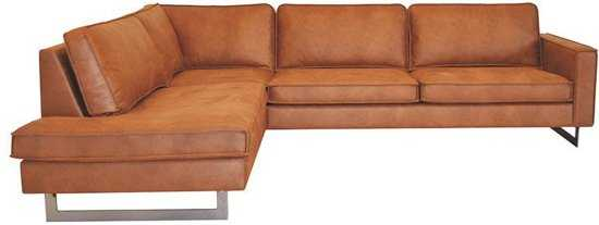 Hoekbank Riverdance Chaise Longue Links Leer Colorado Cognac 03 2 17 X 2 90 Mtr Breed 9200000077019671 290x85x217 cm