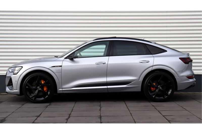 Audi e-tron Sportback 55 quattro S line excl. BTW Panoramadak, S Sportstoelen, Head Up display afbeelding 4