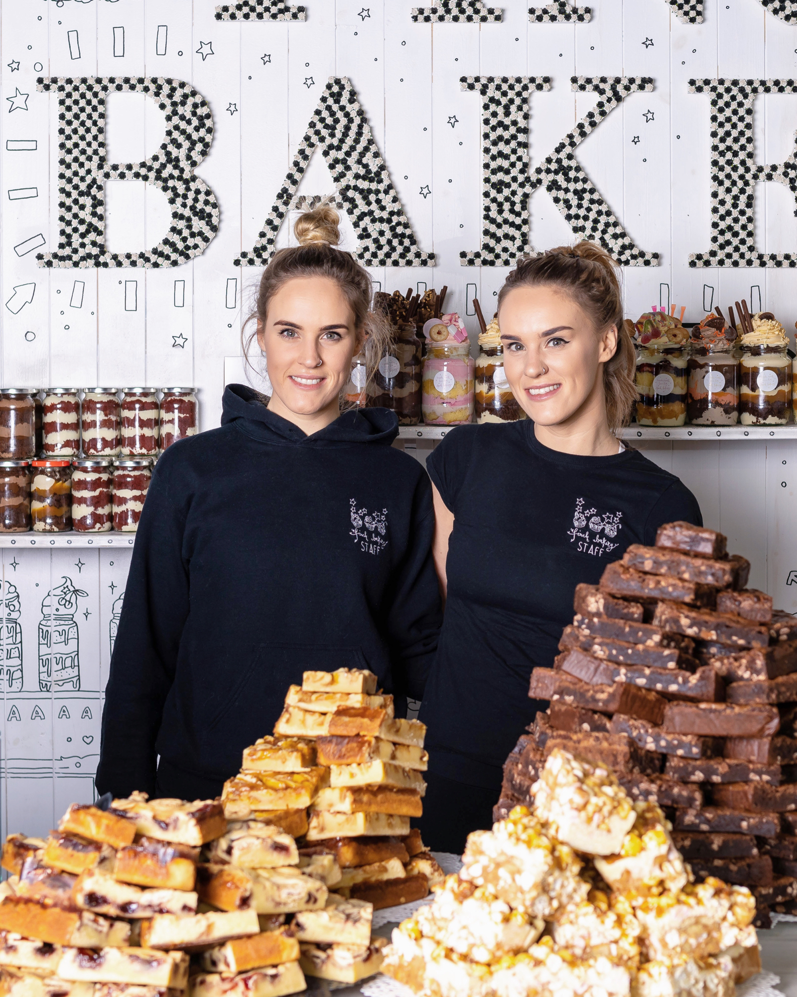 Lauren and Rachel Finch, Founders of Finch Bakery, an award winning bakery in Lancashire