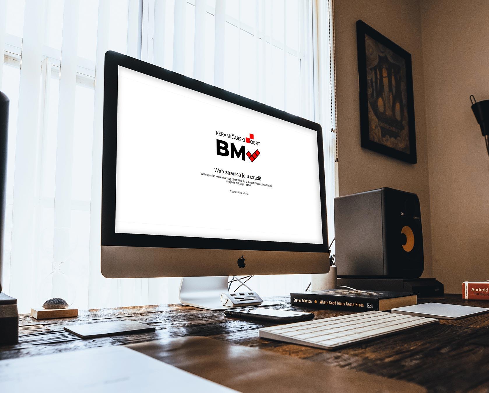 """Ceramics Craft """"BM"""" Web Site"""