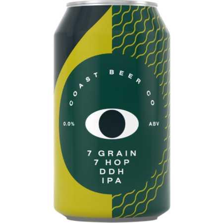 7 Grain 7 Hop DDH IPA by Coast Beer Co