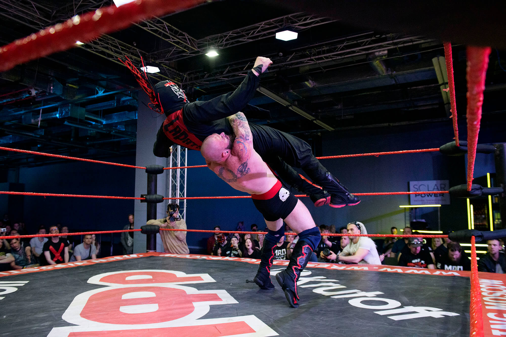 Константин ЛаПатка на ринге Фото: Максим Мармур