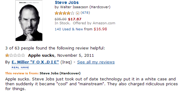 Steve Jobs biography review