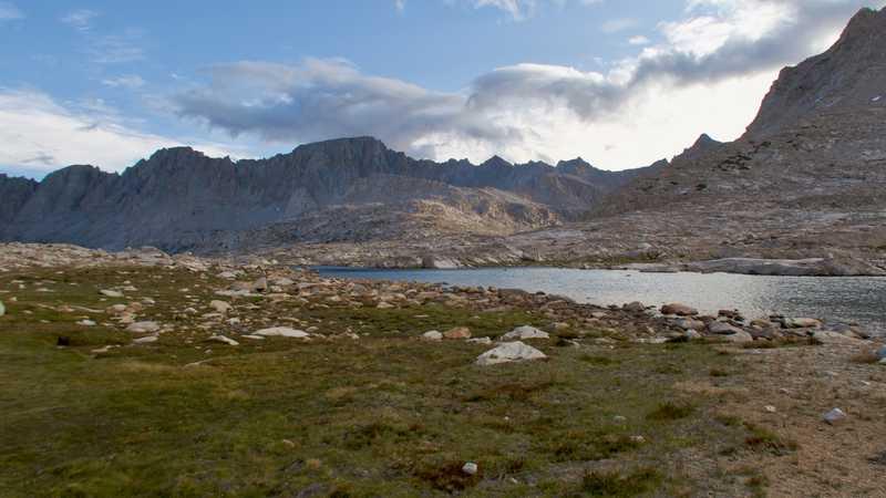 A view of Mt. Mendel, Mt. Darwin, and Mt. Huxley