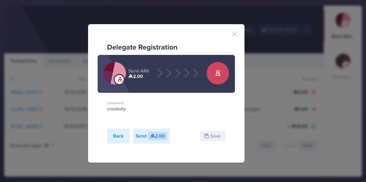 Submit Delegate Registration