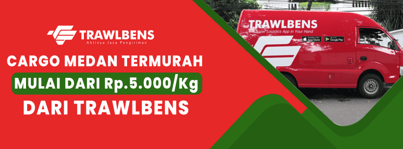 Cargo Medan Murah Rp5.000/Kg untuk 51 Kg–100 Kg