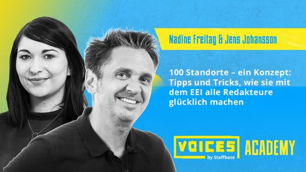 Jens Johansson & Nadine Freitag: 100 Standorte – ein Konzept: