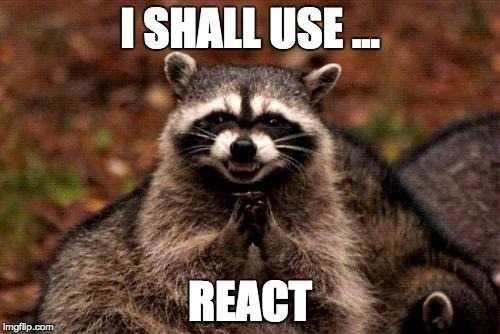 React evil plot