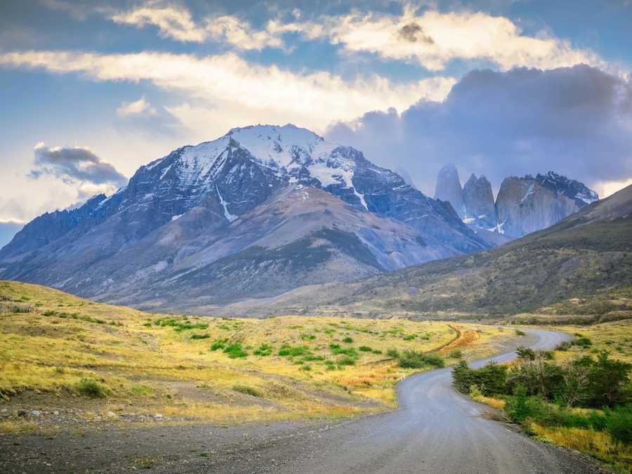 Entrances into Tores del Paine