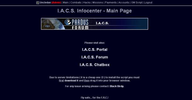 I.A.C.S. Infocenter