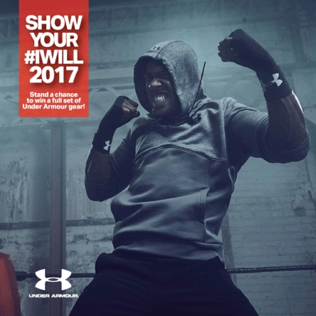 Under armor event IWILL