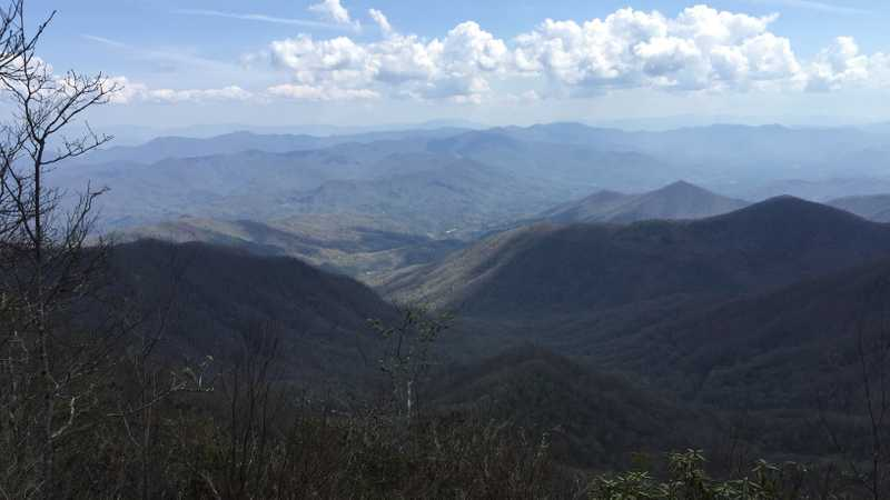 View from Rocky Bald