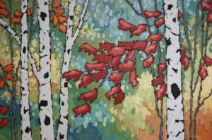 Jennifer Woodburn painting (2)