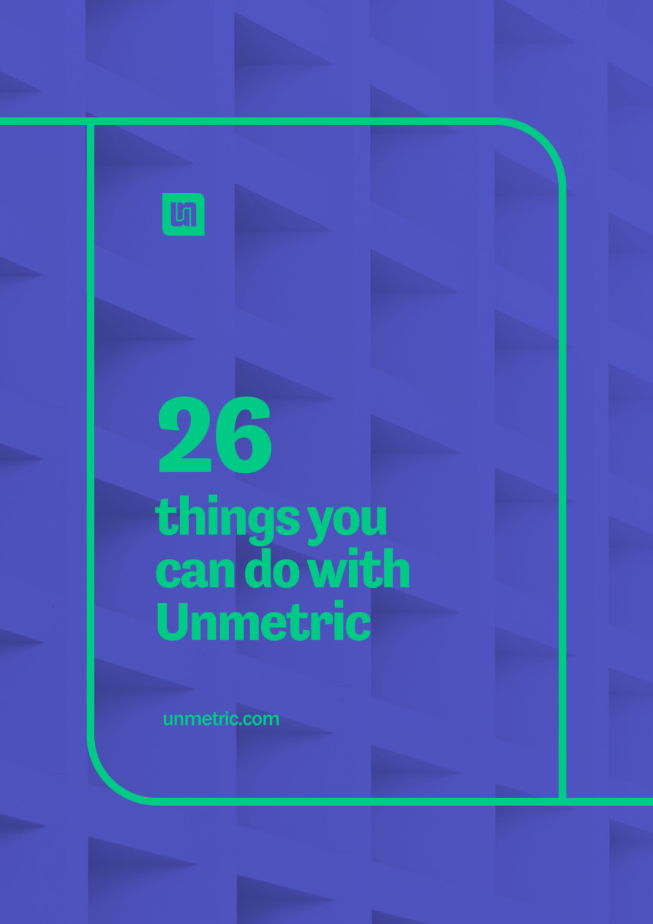 Unmetric PDF cover