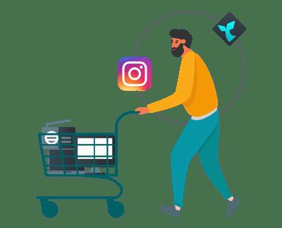70% das pessoas usam o Instagram para descobrir novos produtos