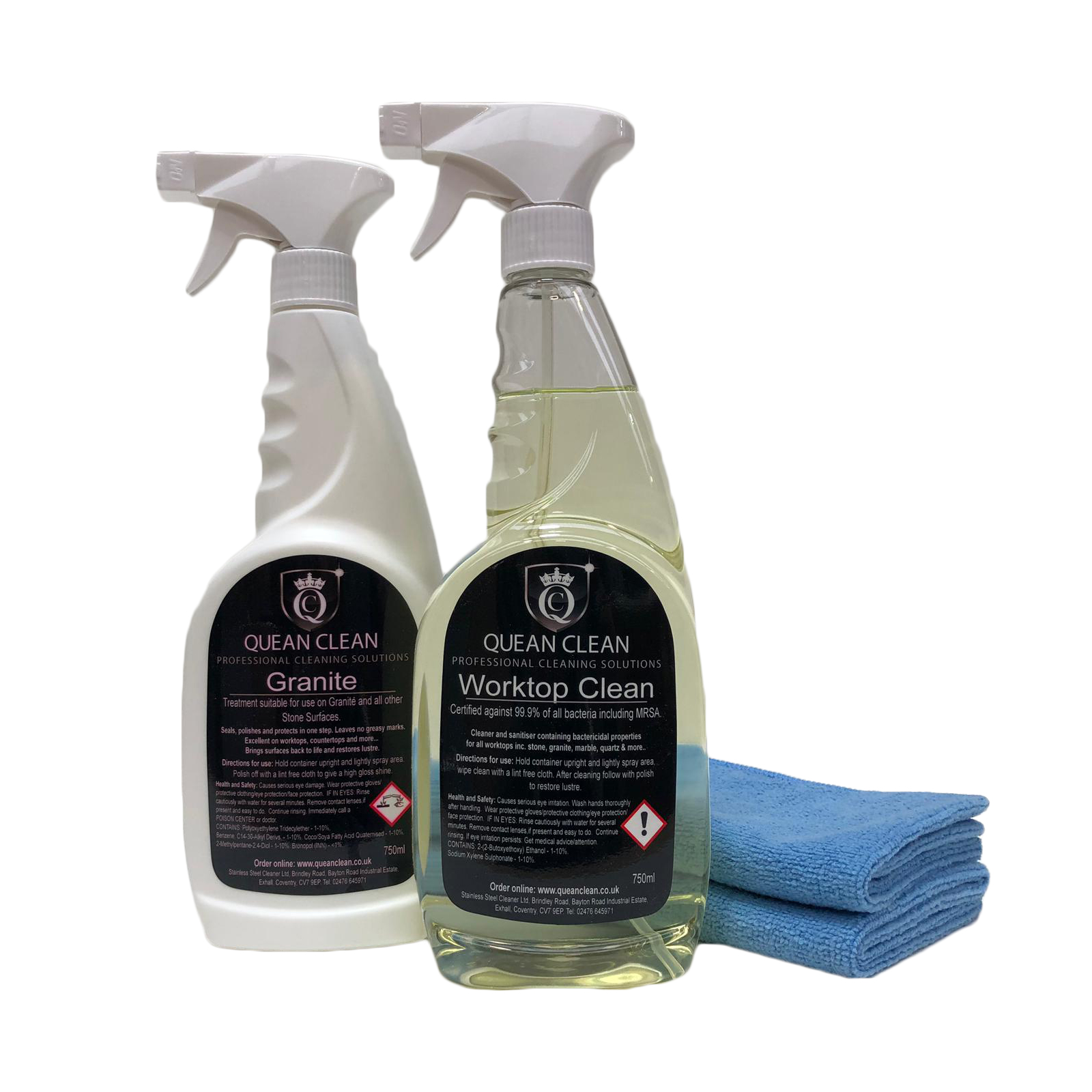 Granite Worktop Cleaner and Polish Kit
