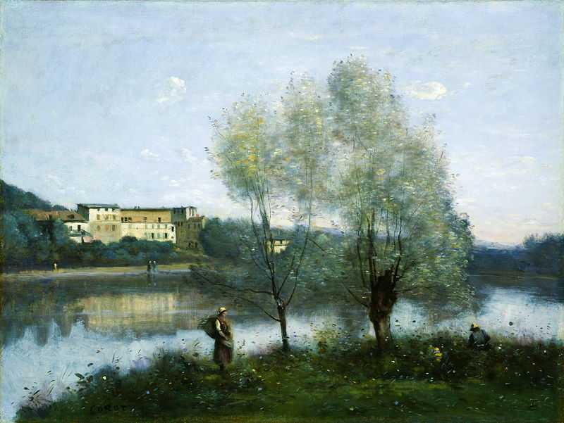 Ville d'Avray, by Camille Corot ca. 1867, National Gallery of Art in Washington D.C.