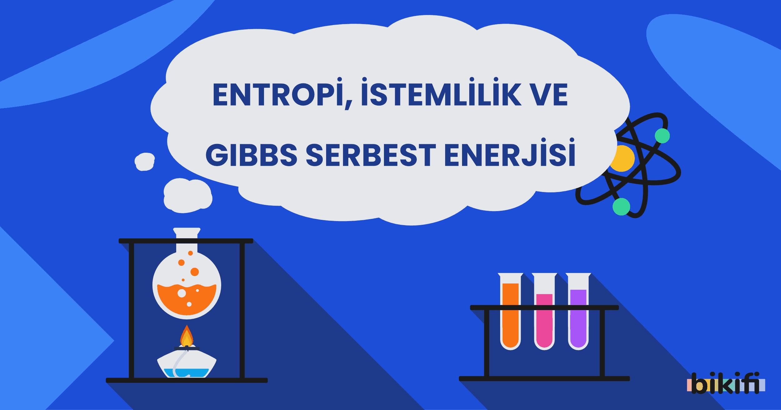 Entropi, İstemlilik ve Gibbs Serbest Enerjisi