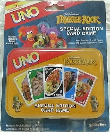 Fraggle Rock Uno