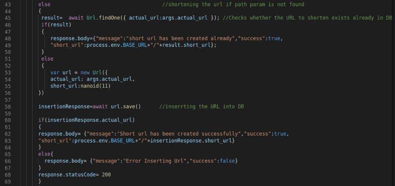 Creating Short URLs 1
