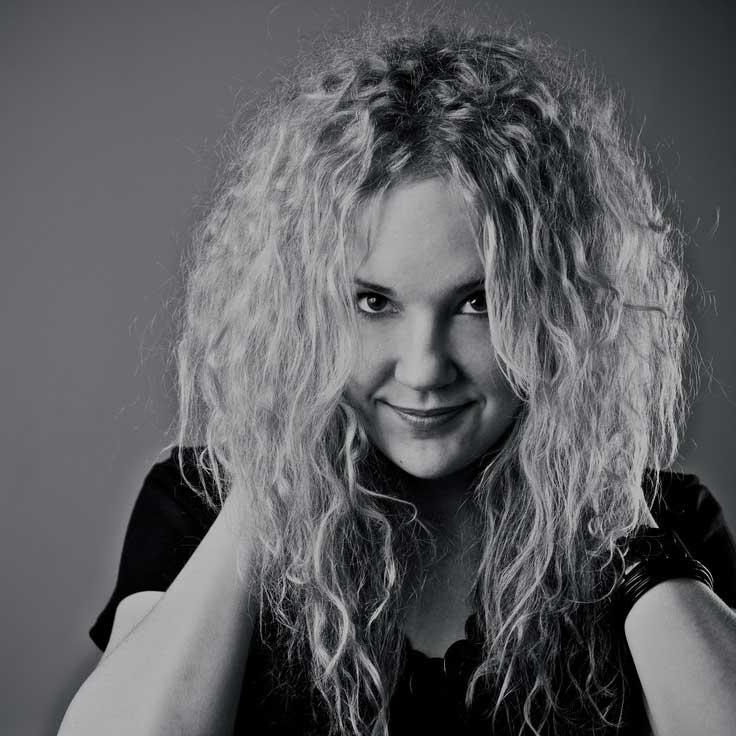 A portrait of Sanna Ruohoniemi