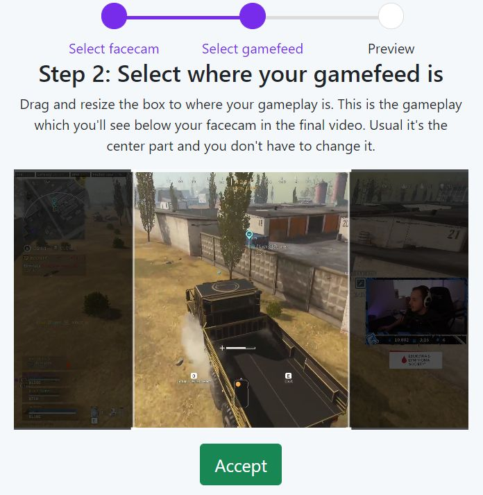 Pick the gameplay
