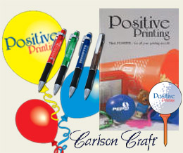Call today to get your Positive Printing Promotional Idea Catalog!