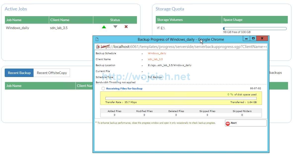 Vembu BDR Suite Review - 14