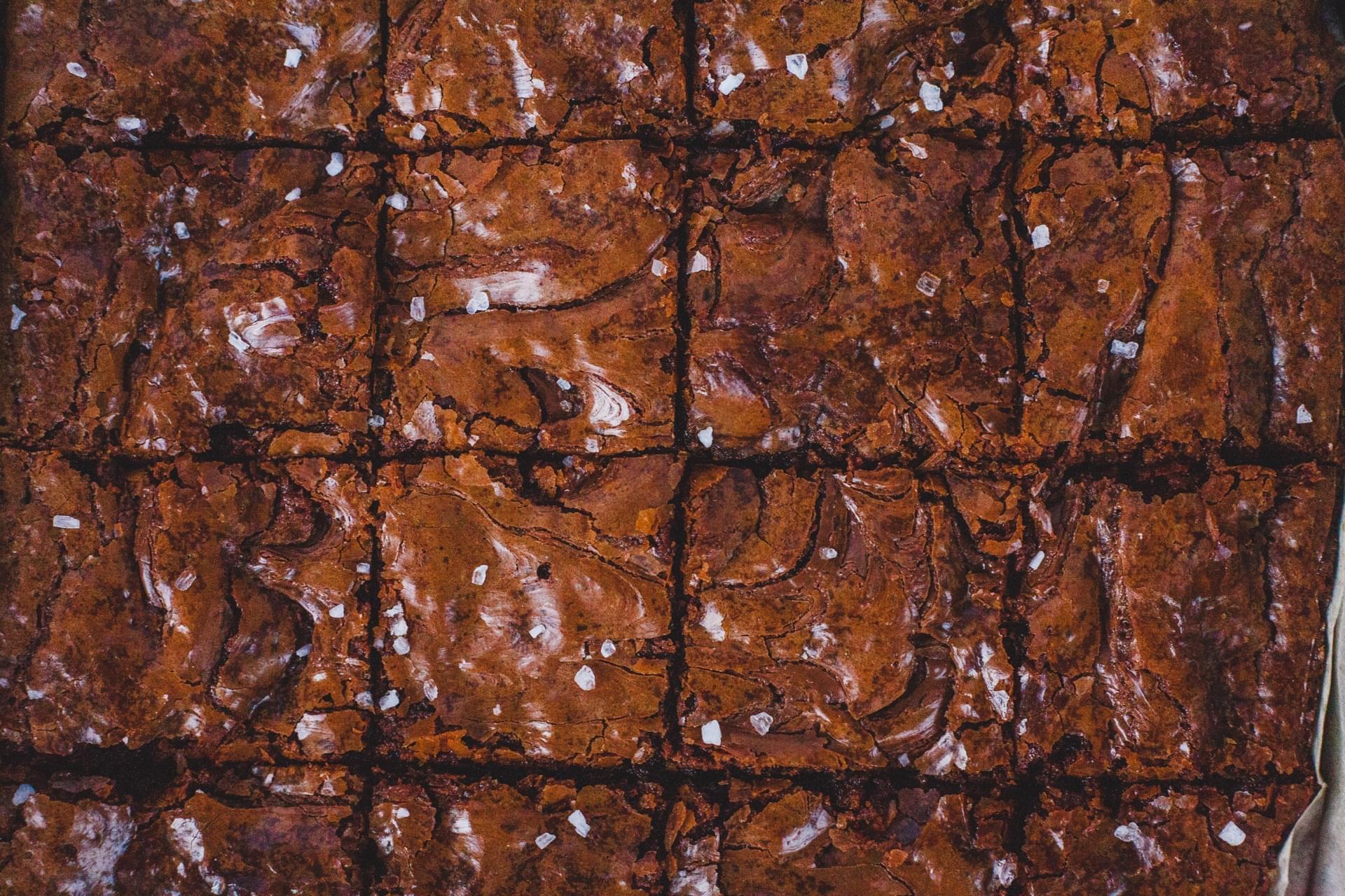 Chocolate Hazelnut Espresso Brownies