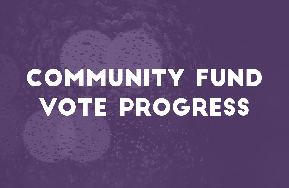 Community Fund Vote Progress