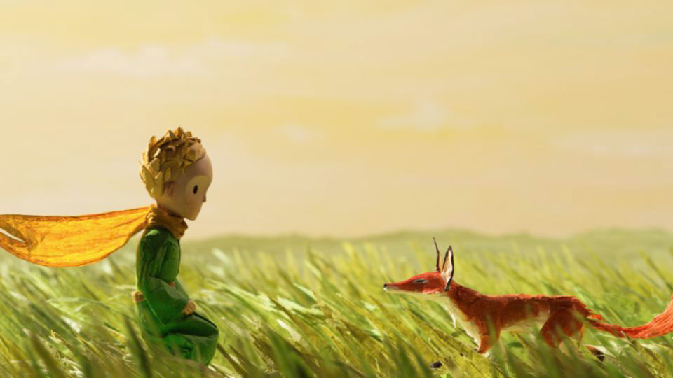 Still from the Netflix film The Little Prince