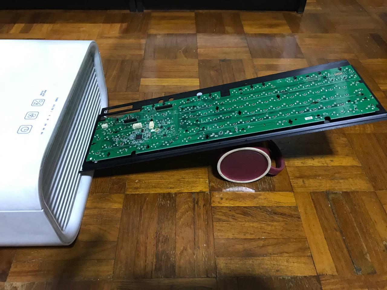 Corsair K70 RGB Drying