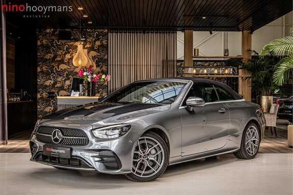 Mercedes-Benz E-Klasse Cabrio 300 AMG | Nieuw Model! | Head-up Display | Memory | Drivers Package |