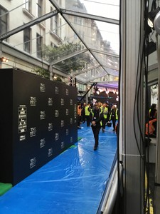 FIFA awards temporary fencing