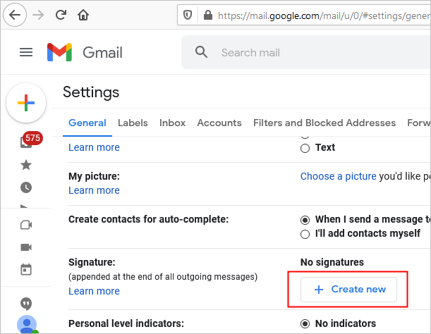 email signature gmail instructions 2