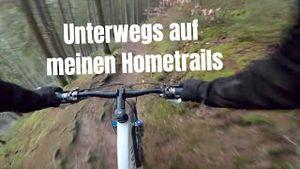 Mit dem Mountainbike unterwegs auf meinen Hometrails | GoPro POV