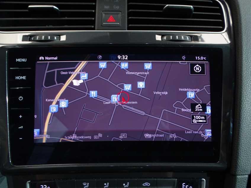 Volkswagen e-Golf e-Golf MARGE! LED Navigatie Clima Cruise Warmtepomp Virtual CP Camera afbeelding 19