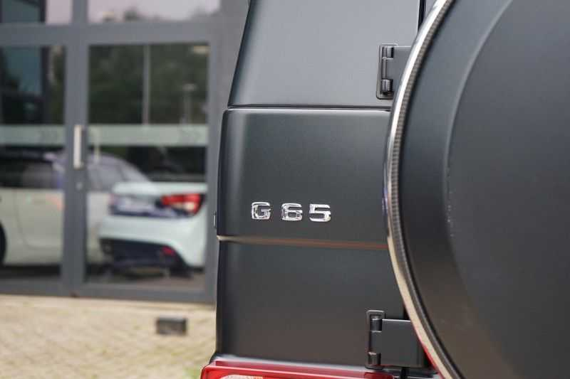 Mercedes-Benz G-Klasse 65 AMG DESIGNO MAGNO NIGHT BLACK afbeelding 14