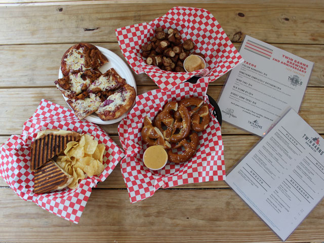 Twin Barns Brewpub Snacks, Small Plates and Shareables
