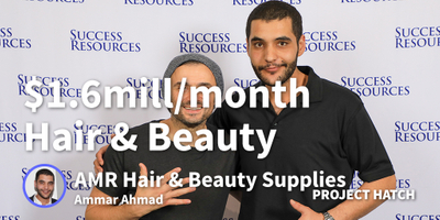 featured image thumbnail for post Hair and Beauty Idea at 14, Eftpos Machine at 18, $1.6m/month at 29.