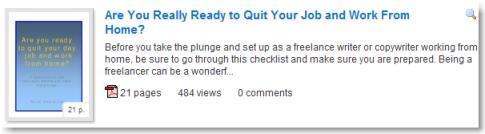 Nick Usborne quit job