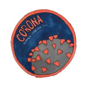 Coronamærket spejdermærke