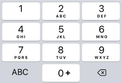 10name phone pad