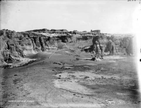 Pueblo of Acoma by William Henry Jackson, Denver Public Library