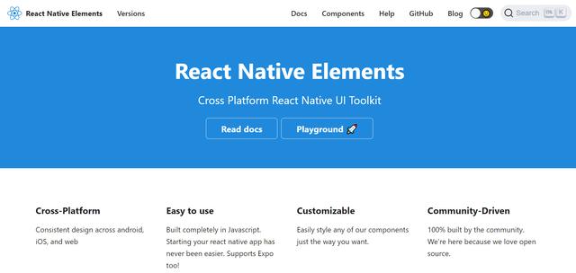 React Native Elements