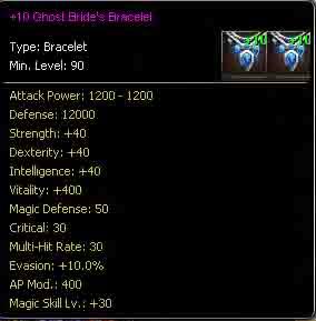 Ghost Brides Bracelet +10