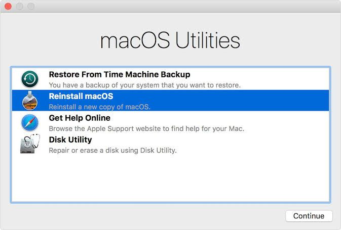 macOS clean install and installing necessary dev applications