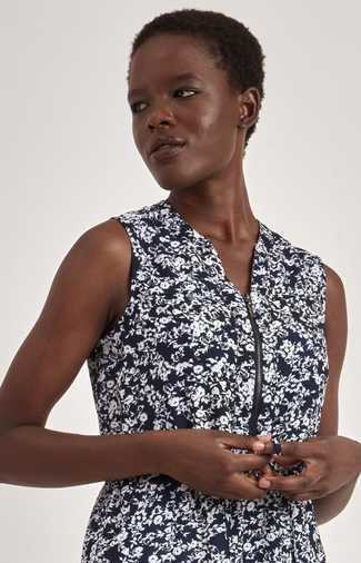 Motion Floral Drawstring Dress SALE